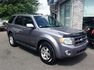 2008 FORD ESCAPE LIMITED V6 4WD  CUIR+TOIT