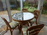 Conservatory suite in excellent condition from pet free and smoke free home.