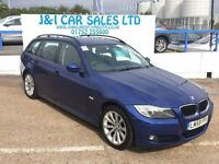 BMW 3 SERIES 2.0 320D SE TOURING 5d 175 BHP jandicarsplymouth.c (blue) 2008