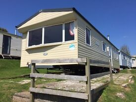2011 2Bed 6Berth Willerby Salsa with annual site fees £4,745 with fantastic sea views on 5star park