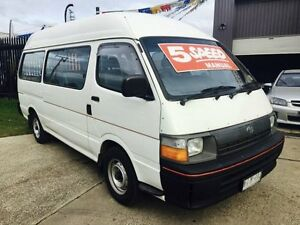 1996 Toyota Hiace RZH125 Commuter 5 Speed Manual Bus Brooklyn Brimbank Area Preview
