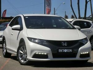 2013 Honda Civic 9th Gen MY13 VTi-S White 5 Speed Sports Automatic Hatchback Condell Park Bankstown Area Preview