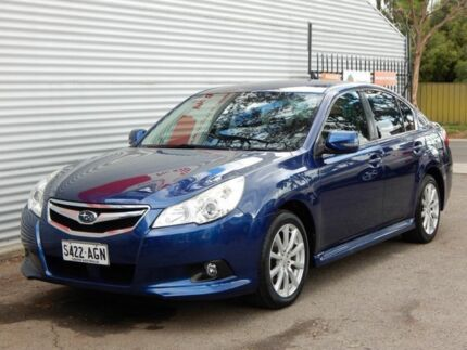 2009 Subaru Liberty B5 MY10 2.5i Lineartronic AWD Blue 6 Speed Constant Variable Sedan Salisbury Downs Salisbury Area Preview