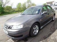 2006 06 reg saab 9.3 linear 2l td diesel mot 1 year mile 103000 ex we car £995