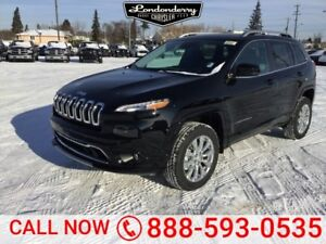 2018 Jeep Cherokee 4X4 OVERLAND              8.4 Inch Touchscree