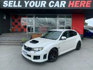 2010 Subaru Impreza G3 WRX Hatchback 5dr Man 5sp AWD 2.5T White Pearl Manual Hatchback Como South Perth Area Preview