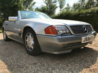 1992 Mercedes Benz 500SL - Beautiful low mileage example - 83k miles