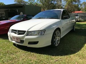 2006 Holden Commodore VZ MY06 Upgrade White 4 Speed Automatic Utility Clontarf Redcliffe Area Preview