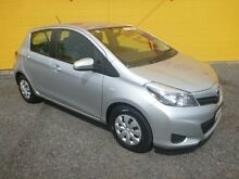 2014 Toyota Yaris NCP130R Ascent Silver 4 Speed Automatic Hatchback Winnellie Darwin City Preview