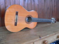 suzuki classical guitar model No 70 made in japan vintage guitar