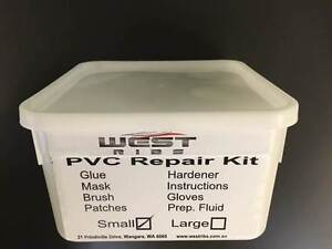 Inflatable boat RIB repair kit PVC or Hypalon Wangara Wanneroo Area Preview