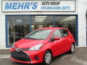2015 Toyota Yaris LE 5Dr Hatchback Loaded Bluetooth only 59km