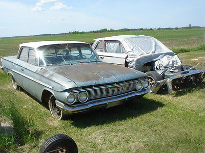1961 Chevrolet Impala Biscayne Bel Air PARTING OUT-this auction is for 1 WHEEL