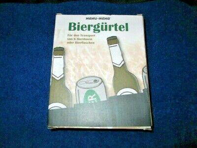 Biergürtel Getränkegürtel Sixpack Bierdosengürtel Junggesellenabschied Festival (Six Pack Bier)