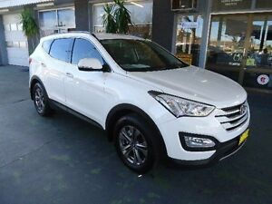 2014 Hyundai Santa Fe DM Active CRDi (4x4) White 6 Speed Automatic Wagon Hamilton Newcastle Area Preview