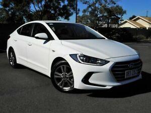 2015 Hyundai Elantra AD MY17 Active White 6 Speed Sports Automatic Sedan Chermside Brisbane North East Preview