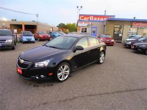 2014 CHEVROLET CRUZE 2LT RS PACKAGE LEATHER SUNROOF EASY FINANCE