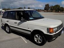 1999 Land Rover Range Rover P38A HSE White 4 Speed Automatic Wagon Maddington Gosnells Area Preview