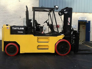 40,000 LBS Capacity Indoor Tire Forklift RENTAL ONLY