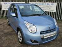 LOW MILEAGE SUZUKI ALTO PLAY 5DR A/C 2012 (12) OYSTER BLUE ONLY 16K / ONE OWNER!
