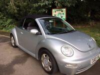 Volkswagen Beetle 1.6 2dr - Convertible - Spares or repair