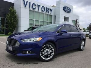 2013 Ford Fusion SE, Leather, Roof, Navi, 2.0L Ecoboost