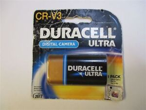 CRV3 DURACELL Camera Battery -  Brand New Sealed
