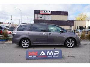 2013 Toyota Sienna SE Leather Camera 8 Paasenger Very Clean