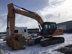 2015 CASE CX160-C TRACK HOE FOR SALE