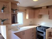 2 bed caravan with site fees included until 2020. 12 month site. full facilities.