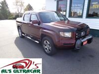 2007 Honda Ridgeline EX-L only $238 bi-weekly!(3yrs)