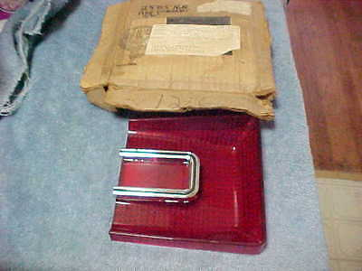 1966 Dodge Coronet S/W Station Wagon Tail Light Lamp Lens OEM NOS Mopar 2585168