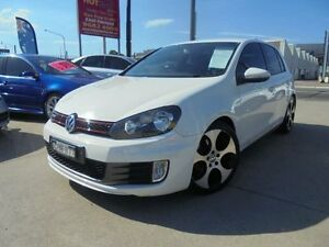 2010 Volkswagen Golf VI MY10 GTi White Auto Dual Clutch Hatchback Holroyd Parramatta Area Preview