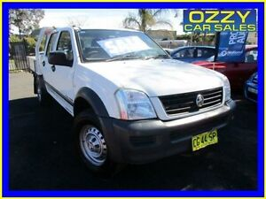 2006 Holden Rodeo RA MY06 Upgrade LX (4x4) White 5 Speed Manual Crewcab Minto Campbelltown Area Preview