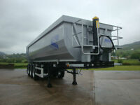 2016 New Mega Tri Axle Agri Steel Tipping Trailer