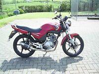 Yamaha YBR125 MOT'd TODAY