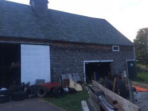 Sliding Barn Doors with 24' of Track