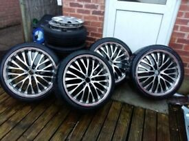 Alloys 20' with very good tyres