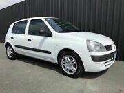 2004 Renault Clio Authentique White 5 Speed Manual Hatchback Phillip Woden Valley Preview