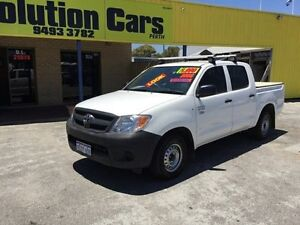 2007 TOYOTA HILUX DUAL CAB UTE WITH MINT CONDITION Maddington Gosnells Area Preview
