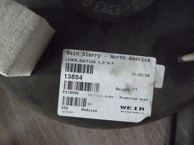 Weirash Slurry Pump 13854 Liner