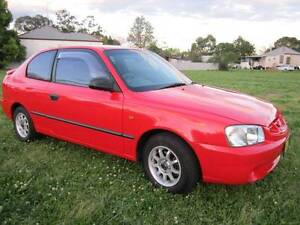 2002 HYUNDAI ACCENT MANUAL 147800KMS Maitland Maitland Area Preview