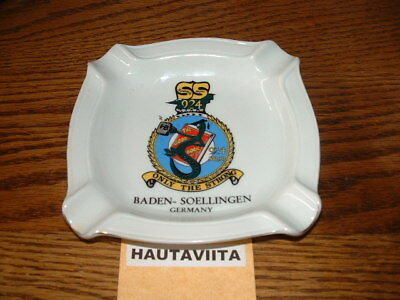 Rcaf 924 Squadron Baden Soellingen Germany Schoolie Squadron Ashtray 1966 90 Bc