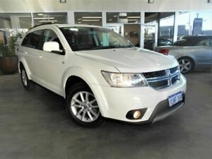 2014 Dodge Journey JC MY14 SXT White 6 Speed Automatic Wagon St James Victoria Park Area Preview