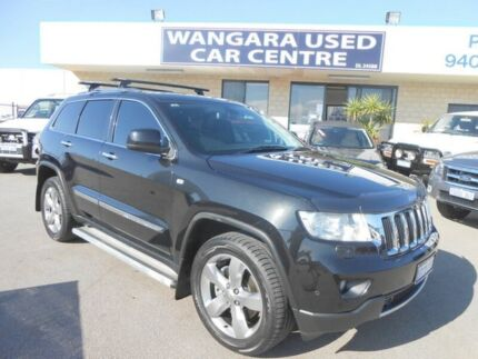 2013 Jeep Grand Cherokee WK MY13 Limited (4x4) Onyx Black 5 Speed Automatic Wagon