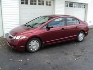 2009 Honda Civic 5spd NEW MVI!! Financing Available