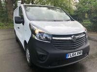 BUY NOW FOR £118.98 PER MONTH 2014 Vauxhall Vivaro 1.6CDTi 2900 L1H1