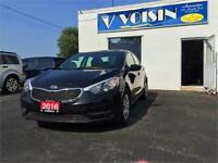2016 Kia Forte LX | BLUETOOTH/SAT | A/C | LOW KMS | NO ACCIDENTS Kitchener / Waterloo Kitchener Area Preview
