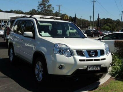 2012 Nissan X-Trail T31 MY11 ST (4x4) White 6 Speed Manual Wagon South Nowra Nowra-Bomaderry Preview