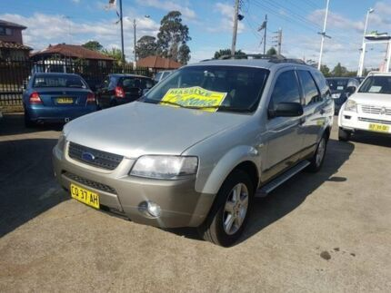 2005 Ford Territory SX TX Silver 4 Speed Automatic Wagon Lansdowne Bankstown Area Preview